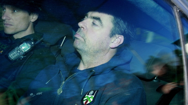 Seamus Daly arrives at Dungannon Court