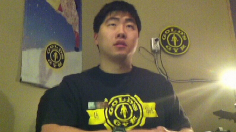 Gold�s Gym trainer Justin Ho claimed he had a university degree � but didn�t provide any proof. Oct. 20, 2011. (CTV)