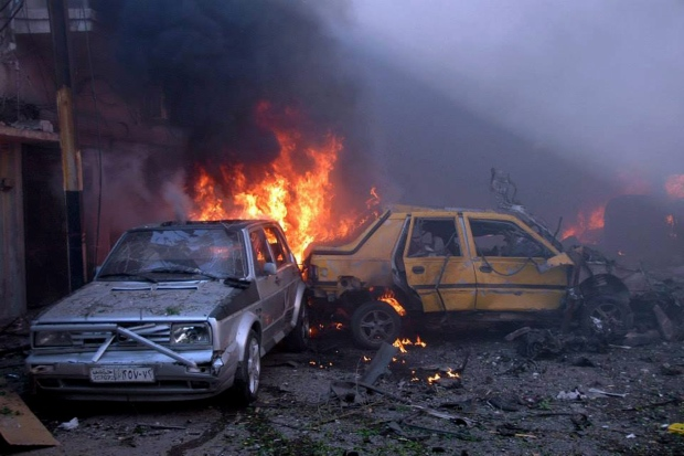 Car bombs explode in Homs