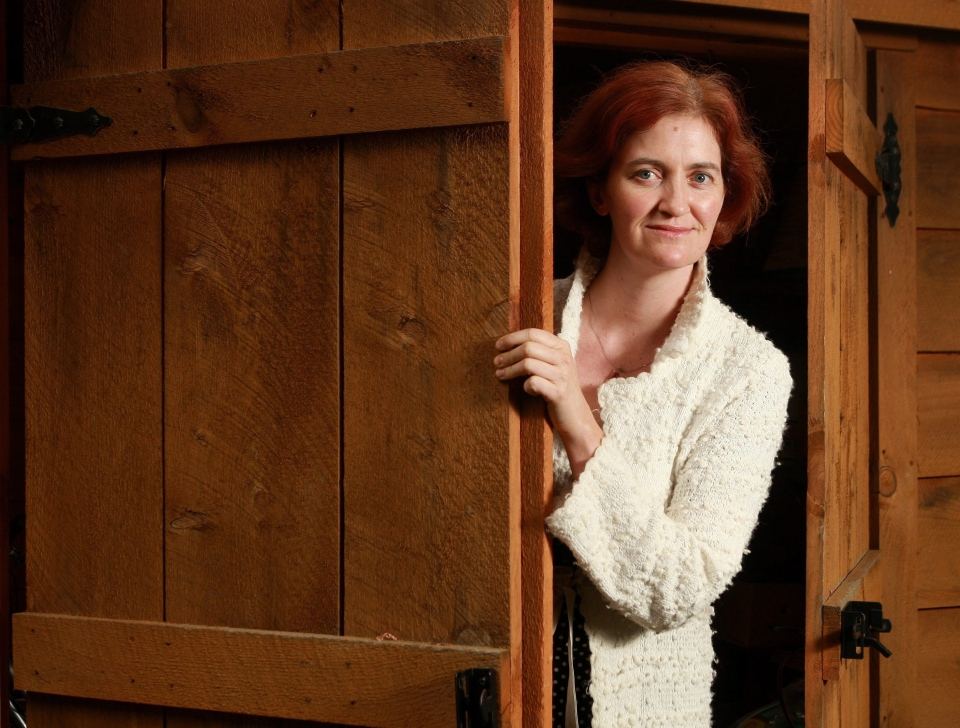 Ontario-based author Emma Donoghue is shown at her home on Wednesday, Sept. 8, 2010. (Dave Chidley/THE CANADIAN PRESS)