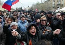 Pro-Russia uprisings in eastern Ukraine