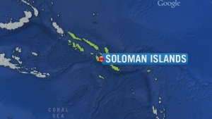 CTV News Channel: Tsunami warning in South Pacific