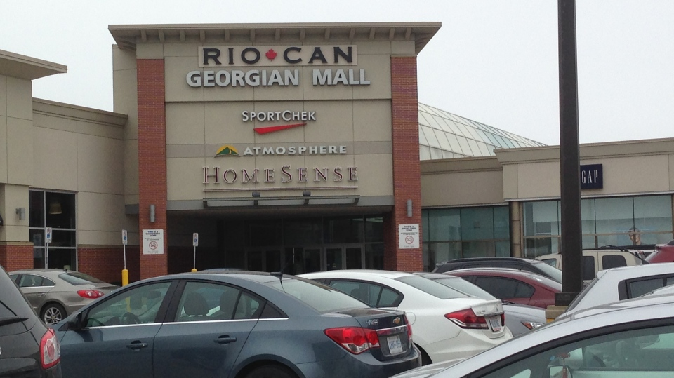 Georgian Mall in Barrie, Ont. (CTV News Barrie) file image.