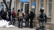 Pro-Russian activists in eastern Ukraine