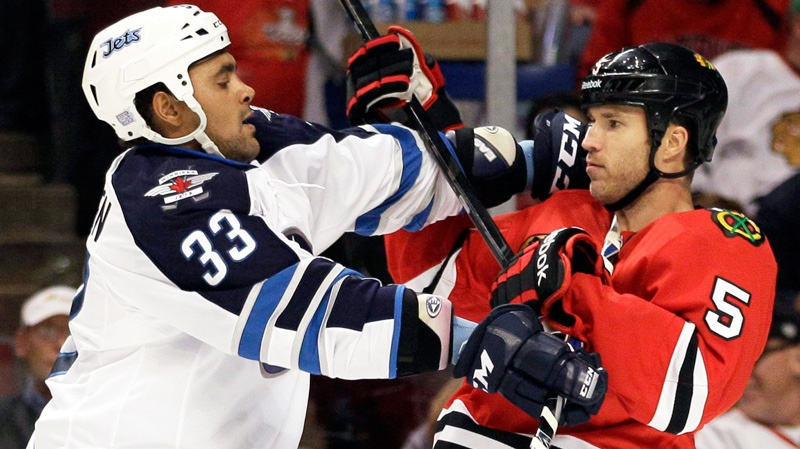 New Jets Coach Plans To Leave Dustin Byfuglien As A Forward For Now Ctv News