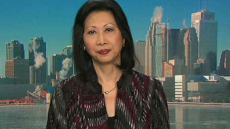 Susan Eng of CARP appears on CTV's Question Period on Sunday, April 13, 2014.