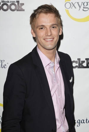 Singer Aaron Carter is seen at Fashion' s Night Out - Hollywood Unzipped Party on Thursday Sept. 6, 2012, in New York. (Photo by Donald Traill/Invision/AP Images)