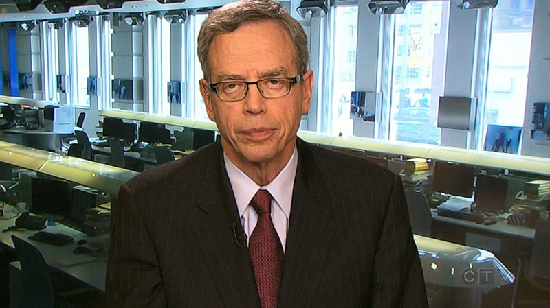 Finance Minister Joe Oliver speaks to CTV's Question Period in an interview that aired on Sunday, April 13, 2014.