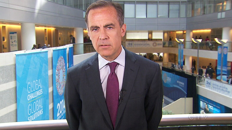 Mark Carney speaks to CTV's Question Period in an interview that aired Sunday, April 13, 2014.