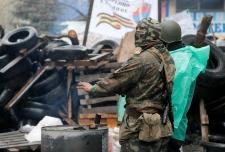 Standoff continues in Ukraine