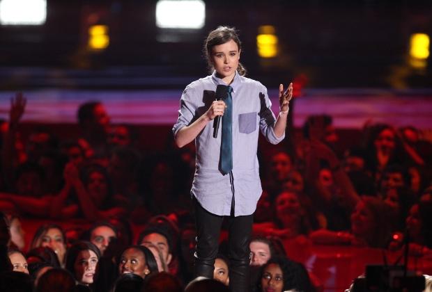 Ellen Page at MTV Movie Awards