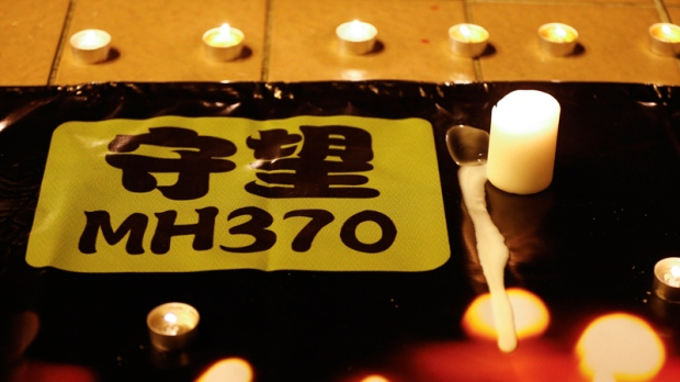 MH370 vigil in Kuala Lumpur, Malaysia
