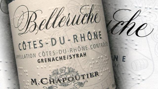 Chapoutier Belleruche Blanc 2012