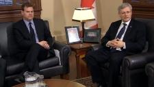 Canada Ukraine Harper response