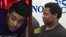 Doreze Marvin Beals and Andre Jerome Gray arrive at Dartmouth court on April 14. (CTV Atlantic)