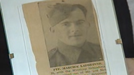 Marcien LaFourtune was one of 2,000 Canadian Soldiers sent to defend Hong Kong during the Second World War.