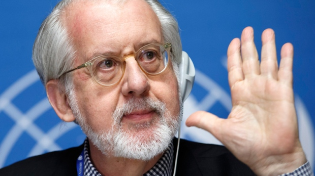 Commission of Inquiry on Syria's Sergio Pinheiro
