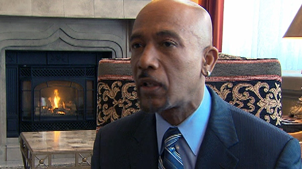 Former talk show host Montel Williams speaks with CTV News in this undated photo.