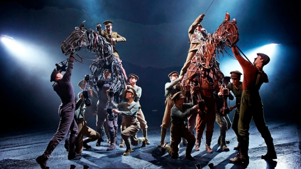 War Horse production by National Theatre in London