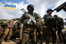 Ukraine army secures airport