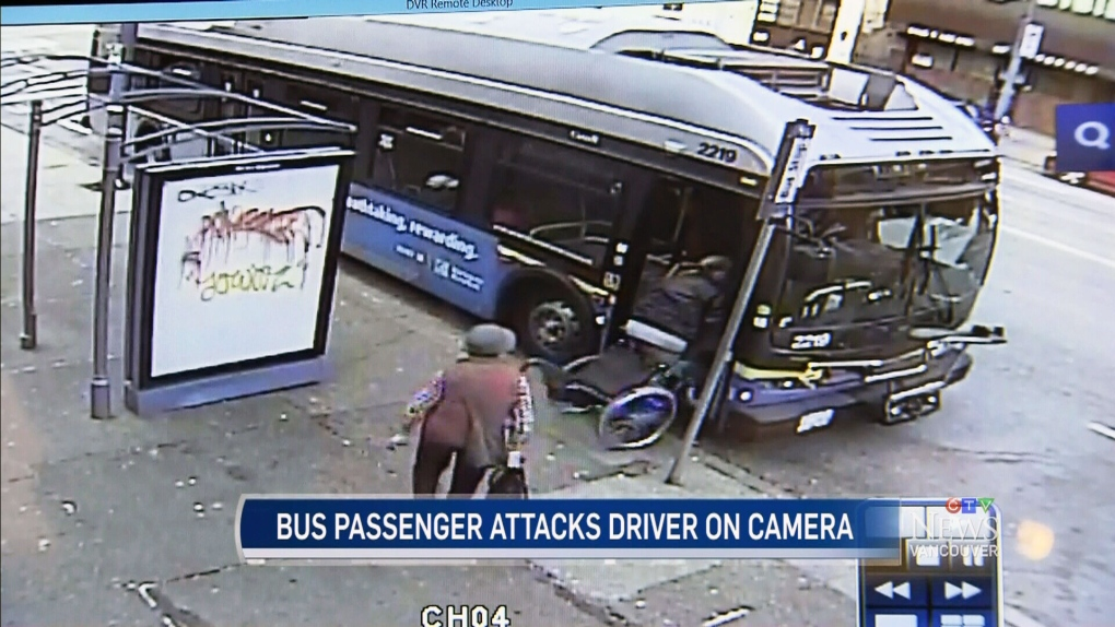 CTV Vancouver: Woman accused of attacking driver | CTV News