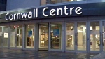 Four people have been injured in an apparent random stabbing at a shopping centre downtown Regina, Tuesday, April 15, 2014.