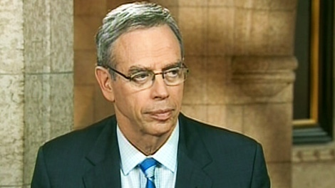 Natural Resources Minister Joe Oliver appears on CTV's Power Play on Monday, Oct. 24, 2011.