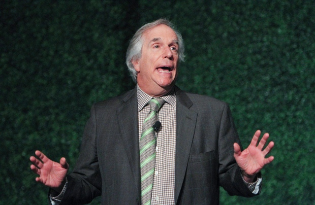 Henry Winkler is seen at a lunch in Texas