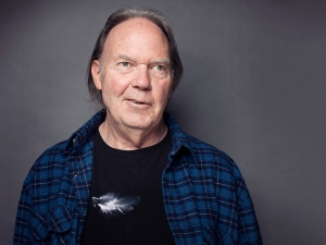 Singer-songwriter Neil Young posing for a portrait at The Carlyle hotel in New York, Sept. 27, 2012. (AP / Victoria Will)