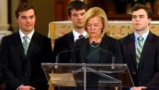 Flaherty funeral in Toronto