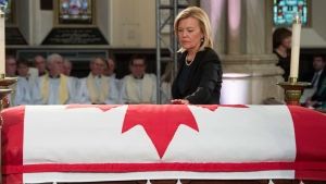 Christine Elliott Digital Extra Flaherty funeral