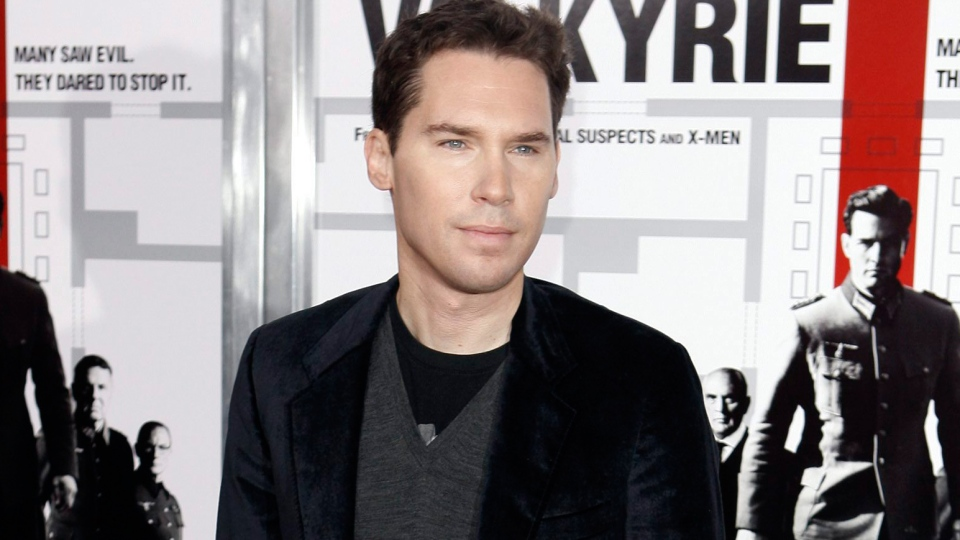 Director Bryan Singer arrives at the premiere of 'Valkyrie' in Los Angeles on Thursday, Dec. 18, 2008. (AP / Matt Sayles)