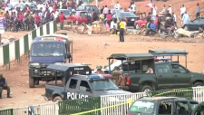 Nigeria police vehicles