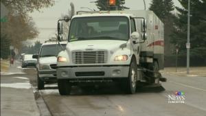 CTV Edmonton: Residential street sweeping starts