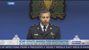 CTV News Channel: Arrest made in Amanda Todd case