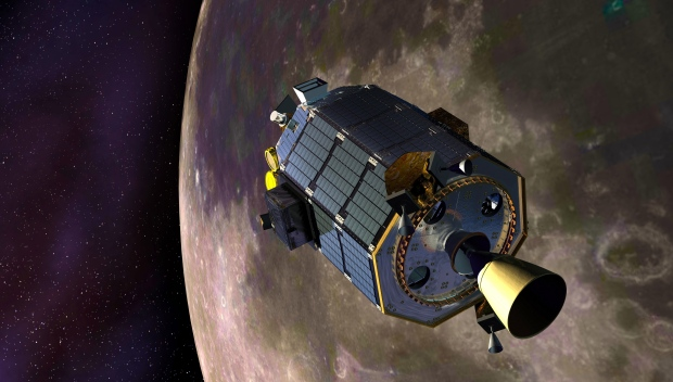 LADEE crashes on lunar surface