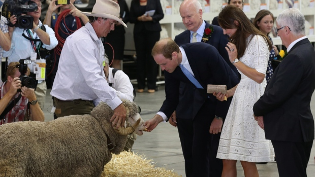 Prince William and Kate at the Sydney Easter Show