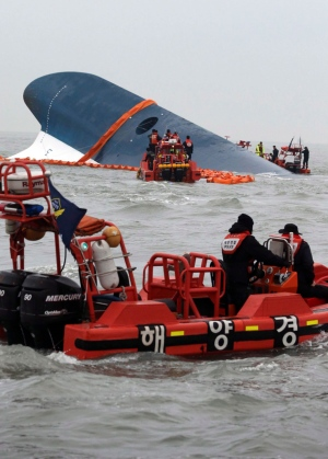 Frantic search for missing passengers