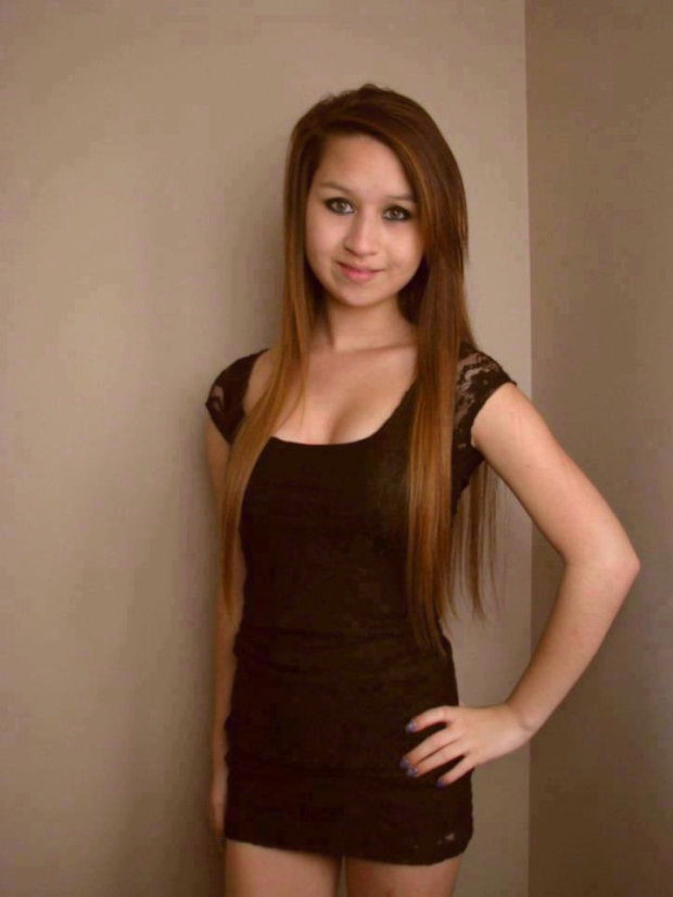 Amanda Todd, 15, is shown in this undated handout photo from a Facebook memorial site.