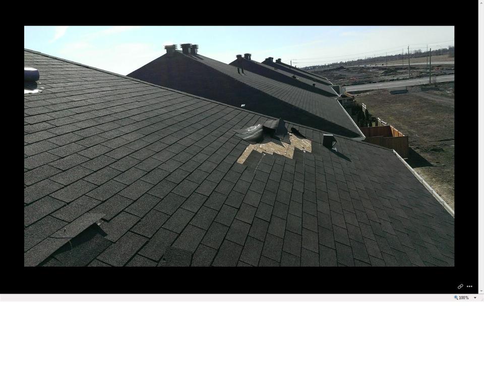 Shingles Blowing Off Roofs In Kanata Neighbourhood Ctv