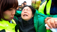 Anger over South Korea ferry disaster