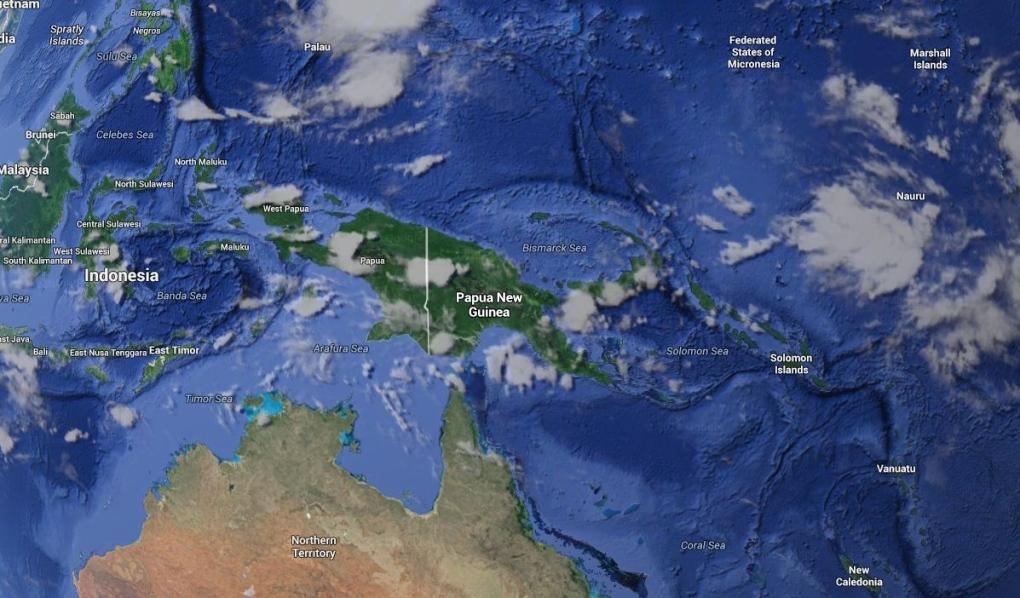 Strong 6.9 magnitude quake strikes off coast of Papua New Guinea