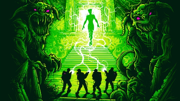 Ghostbusters art tour