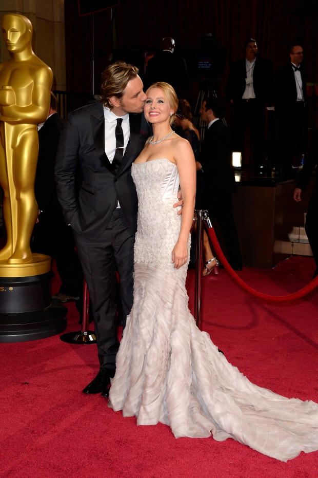 Dax Shepard and Kristen Bell at Oscars