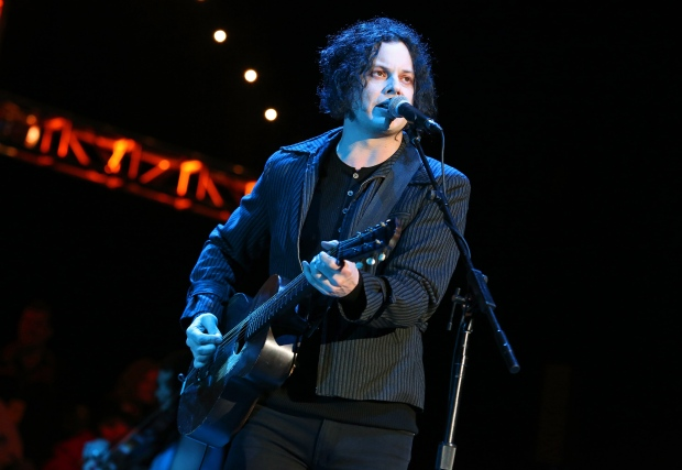 Jack White performs on Record Store Day