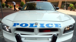 An NYPD cruiser is seen in this file photo.  (AP / Mary Altaffer)