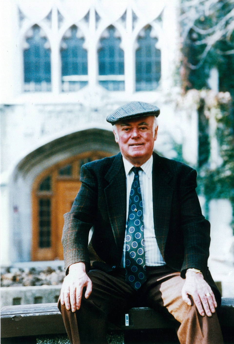 Canadian author Alistair MacLeod is shown in an undated handout photo. (Provided / Ted Rhodes)