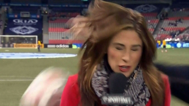 CTV Vancouver: Reporter takes one for the team | CTV News