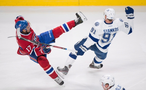 Rene Bourque and Steven Stamkos
