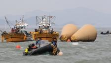 Ferry search off Jindo, South Korea